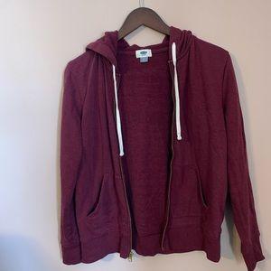 Old Navy zip-up hoodie